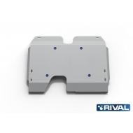 "Защита алюминиевая ""Rival"" для бензобака Land Rover Freelander II 2007-2015. Артикул: 333.3102.1"