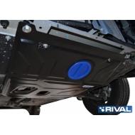 """Защита """"Rival"""" для картера и КПП Daewoo Nexia I 2008-2016. Артикул: 111.1310.1"""