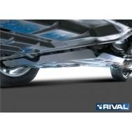 """Защита алюминиевая """"Rival"""" для картера и КПП Ford Explorer V 2014-2020. Артикул: 333.1848.1"""