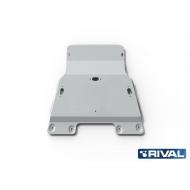 "Защита алюминиевая ""Rival"" для картера Land Rover Range Rover IV 2012-2016. Артикул: 333.3116.1"