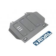 """Защита алюминиевая """"Rival"""" для картера Isuzu D-Max II 2012-2020. Артикул: 333.9102.1"""