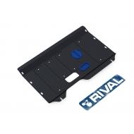 """Защита """"Rival"""" для картера и КПП Ford Tourneo Custom FWD 2012-2018 2017-2020. Артикул: 111.1839.1"""