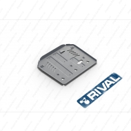 "Защита алюминиевая ""Rival"" для КПП и РК Porsche Cayenne 2014-2017. Артикул: 333.4607.1"