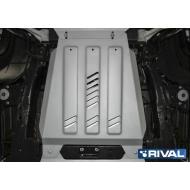 "Защита алюминиевая ""Rival"" для КПП Cadillac Escalade IV 2015-2020. Артикул: 333.0809.1"
