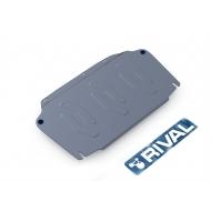 "Защита алюминиевая ""Rival"" для картера и КПП Hyundai Elantra 2007-2011. Артикул: 333.2302.2"