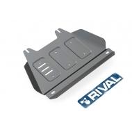 """Защита алюминиевая """"Rival"""" для РК Isuzu D-Max II 2012-2020. Артикул: 333.9104.1"""