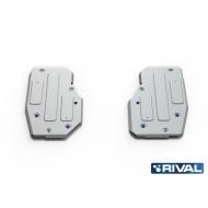 """Защита алюминиевая """"Rival"""" для топливный бака Mercedes-Benz GL-Class X166 2012-2016. Артикул: 333.3926.1"""