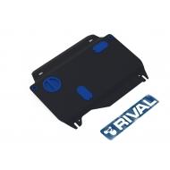 """Защита """"Rival"""" для картера и КПП Honda Civic IX седан 2013-2015. Артикул: 111.2120.1"""