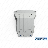 "Защита алюминиевая ""Rival"" для радиатора, картера Land Rover Range Rover Sport I 2005-2013. Артикул: 333.3110.1"