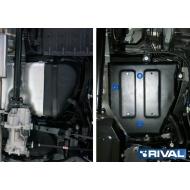 """Защита """"Rival"""" для топливного бака Hyundai ix35 4WD 2010-2015. Артикул: 111.2828.1"""