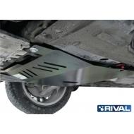 """Защита """"Rival"""" для картера и КПП Opel Insignia I FWD 2009-2016. Артикул: 111.4205.1"""