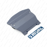 "Защита алюминиевая ""Rival"" для картера Infiniti M 25 2010-2014. Артикул: 333.2414.1"