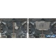 "Защита алюминиевая ""Rival"" для картера и КПП Lexus ES 350 2012-2020. Артикул: 333.5797.1"