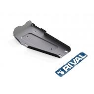 "Защита алюминиевая ""Rival"" для редуктора Hyundai Santa Fe III 2012-2018. Артикул: 333.2337.1"
