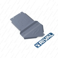 """Защита алюминиевая """"Rival"""" для КПП и РК Cadillac Escalade 2007-2015. Артикул: 333.0807.1"""
