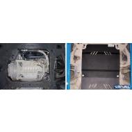 """Защита """"Rival"""" для картера Cadillac CTS II 2008-2013. Артикул: 111.0802.1"""