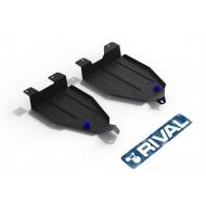 """Защита """"Rival"""" для топливного бака Nissan Murano Z52 2016-2020. Артикул: 111.4159.1"""