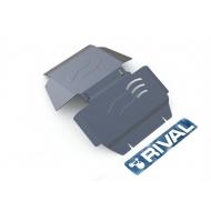 "Защита алюминиевая ""Rival"" для картера Cadillac Escalade 2007-2015. Артикул: 333.0806.1"