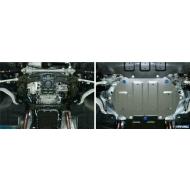 "Защита алюминиевая ""Rival"" для картера (часть 2) Hyundai Genesis G90 4WD 2016-2020. Артикул: 333.2354.1"