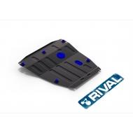"""Защита """"Rival"""" для картера и КПП Ford Focus I 1998-2005. Артикул: 111.1822.1"""