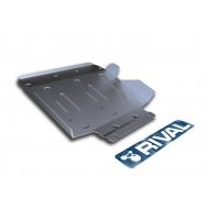 "Защита алюминиевая ""Rival"" для радиатора Infiniti QX80 2013-2020. Артикул: 3.2408.1"