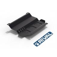 "Защита ""Rival"" для картера Mitsubishi Pajero Sport II 2008-2016. Артикул: 111.4006.1"