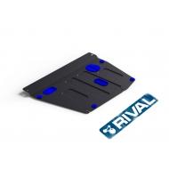 """Защита """"Rival"""" для картера и КПП Honda Civic VIII седан 2006-2011. Артикул: 111.2108.1"""