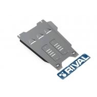 """Защита алюминиевая """"Rival"""" для КПП Isuzu D-Max II 2012-2020. Артикул: 333.9103.1"""