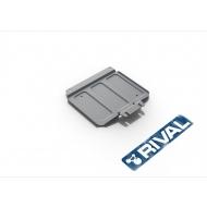 """Защита алюминиевая """"Rival"""" для РК Nissan NP300 2008-2015. Артикул: 333.4127.1"""