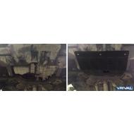 "Защита ""Rival"" для картера и КПП Hyundai Elantra V 2014-2016. Артикул: 111.2351.1"