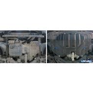 """Защита """"Rival"""" для картера и КПП Hyundai ix35 2010-2015. Артикул: 111.2352.1"""