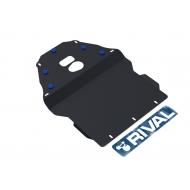 "Защита ""Rival"" для картера и КПП BMW 5-series E39 1995-2002. Артикул: 111.0501.1"