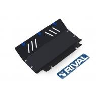 "Защита ""Rival"" для радиатора Mitsubishi Pajero II 1991-2000. Артикул: 111.4020.1"