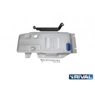 """Защита алюминиевая """"Rival"""" для КПП и РК BMW X3 F25 2010-2017. Артикул: 333.0507.2"""
