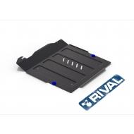 "Защита ""Rival"" для картера и КПП Hyundai Sonata IV 2001-2013. Артикул: 111.2310.2"