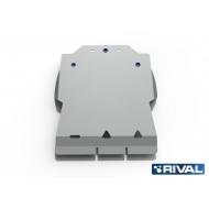 "Защита алюминиевая ""Rival"" для КПП Land Rover Range Rover III 2001-2012. Артикул: 333.3107.1"