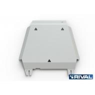 "Защита алюминиевая ""Rival"" для КПП Ford Ranger IV 2012-2015. Артикул: 333.1831.1"