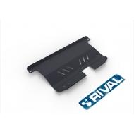 "Защита ""Rival"" для картера и КПП Chevrolet Spark II 2005-2010. Артикул: 111.1008.1"