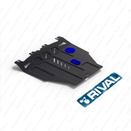 "Защита ""Rival"" для картера и КПП Honda Civic VIII хэтчбек 5-дв. 2006-2012. Артикул: 111.2103.1"