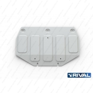 "Защита алюминиевая ""Rival"" для картера (часть 1) Hyundai Genesis G90 4WD 2016-2020. Артикул: 333.2353.1"