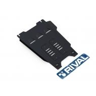 """Защита """"Rival"""" для КПП Isuzu D-Max II 2012-2020. Артикул: 111.9103.1"""