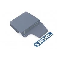 "Защита алюминиевая ""Rival"" для КПП и РК Ford Explorer 2006-2011. Артикул: 333.1820.1"