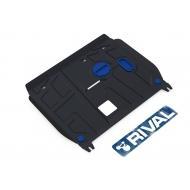 """Защита """"Rival"""" для картера и КПП Hyundai i30 II 2012-2015. Артикул: 111.2350.1"""