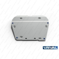 "Защита алюминиевая ""Rival"" для картера и КПП Land Rover Freelander II 2007-2011. Артикул: 333.3101.1"