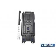 "Защита ""Rival"" для КПП Lexus LX 450 III 2015-2020. Артикул: 111.9507.1"