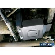 "Защита алюминиевая ""Rival"" для редуктора Nissan Pathfinder R52 2014-2017. Артикул: 333.4160.1"