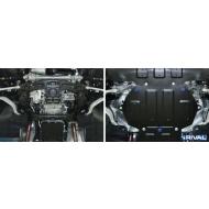 """Защита """"Rival"""" для картера (часть 2) Genesis G90 4WD 2016-2020. Артикул: 111.2354.1"""