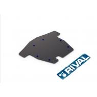 """Защита """"Rival"""" для картера и КПП Honda Accord VII 2002-2008. Артикул: 111.2117.1"""