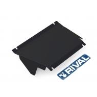 "Защита ""Rival"" для картера (часть 1) Mitsubishi Delica IV 1994-2007. Артикул: 111.4022.1"
