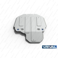 "Защита алюминиевая ""Rival"" для КПП и РК Land Rover Range Rover Sport 2005-2013. Артикул: 333.3109.1"